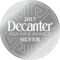 decanter 2017 silver medal
