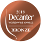 decanter 2018 gold medal